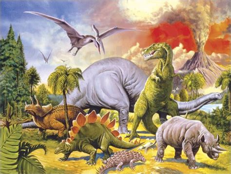 Land Of The Dinosaurs vulcans prints posters free delivery posterlounge