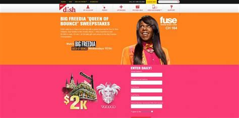 Dish Sweepstakes - dish big freedia queen of bounce sweepstakes