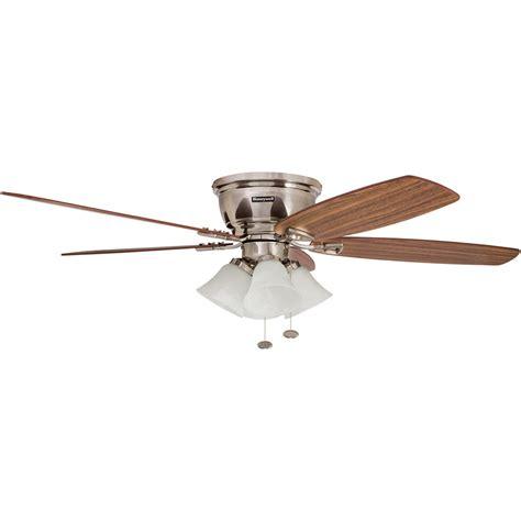 ceiling fans nickel finish honeywell glen alden ceiling fan brushed nickel finish