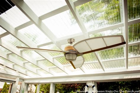 68 inch outdoor ceiling fan an ordinary patio becomes a beautiful three season porch