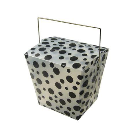 Polkadot Box polka dot take out boxes