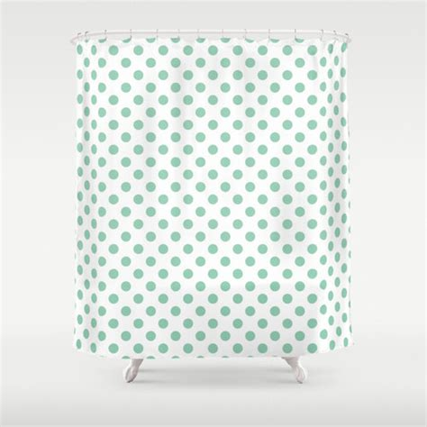 seafoam green shower curtain 45 colors polka dot shower curtain seafoam mint green shower