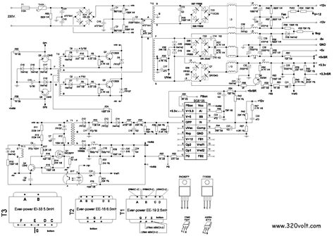 300 Watt Lifier Circuit Diagram by Delta 300 Watt Power Supply Schematic Get Free Image