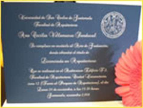 invitaciones de graduacion guatemala industria de rapi impresos guatemala invitaciones boda