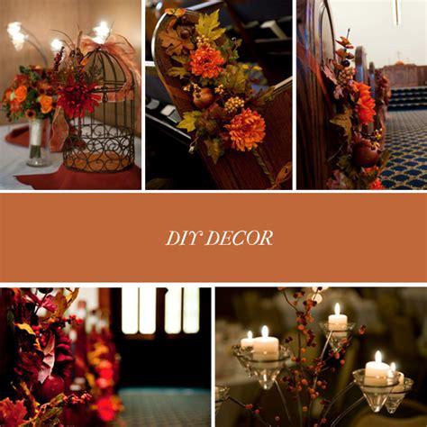 diy fall wedding decorations diy fall wedding ideas photograph these two ideas and