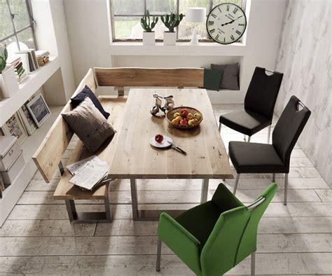 speisezimmer modern esstische aus massivholz dansk design massivholzm 246 bel