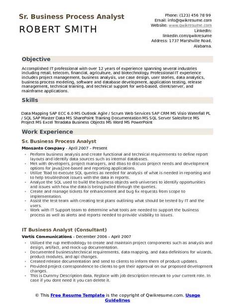 business systems analyst resume markpooleartist com