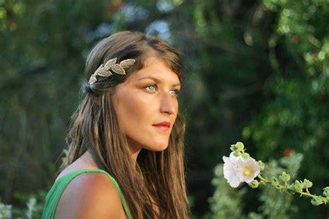 hair st es roman goddesses beaded leaves goddess headband bridal hair accessories