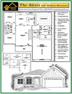 Alexis Floor Plan by Alexis With Walkout Floor Plan