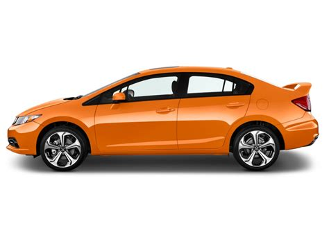 image 2014 honda civic 4 door si side exterior view