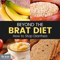 brat diet how to stop diarrhea in its tracks beyond brat dr axe