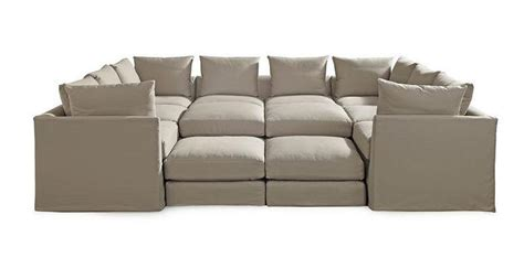 Dr Pitt Sectional by Dr Pitt Slipcovered Sectional Available