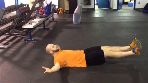 abdominal exercise iron cross youtube