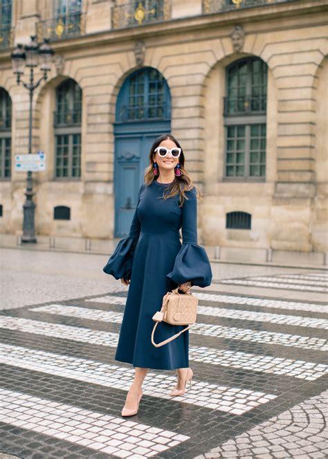 Ailyn Dress roksanda aylin dress and chanel bag at place vendome