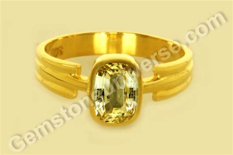 Y1 Ceylon Yellow Sapphire 1 08 ceylon yellow sapphire jyotish gemstones