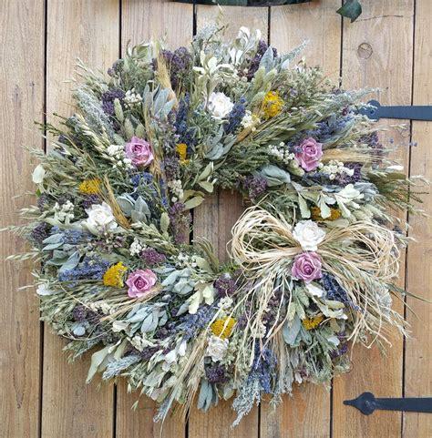 Joanns Winter Garden by Joann S Herb Garden Wreath Herbs Grasses Flowers
