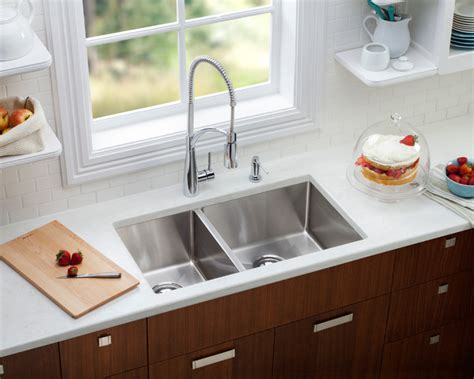 Modern Undermount Kitchen Sinks Elkay Crosstown Undermount Sink Modern Kitchen Sinks Other Metro By Gerhards The