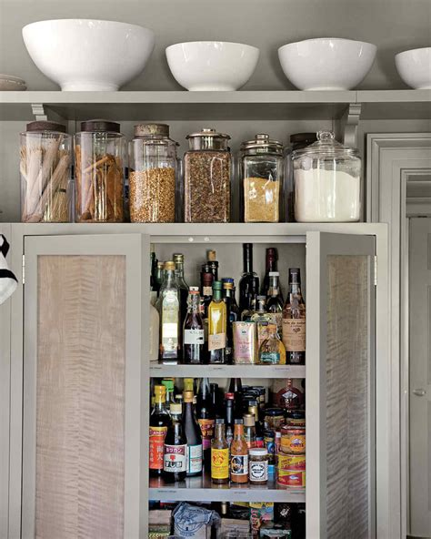 Organizing Kitchen Cabinets by Martha S 50 Top Kitchen Tips Martha Stewart