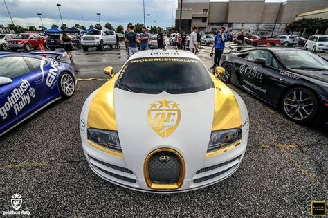Gold And White Bugatti Veyron Ss Jun 13 2015 Image