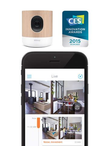 withings home all in one security with air quality