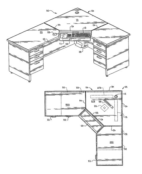 Computer Desk Blueprint Corner Computer Desk Plans Model Gray Corner Computer Desk Plans Innovation Egorlin