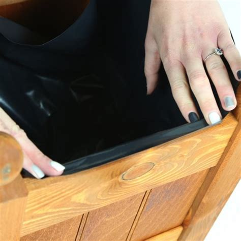 plastic liners for planters 34 clarence classic teak planter trough with plastic liner