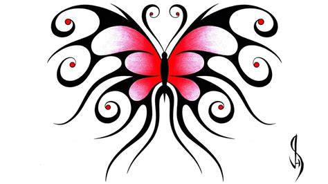 symmetrical design how i draw a swirly symmetrical butterfly design youtube