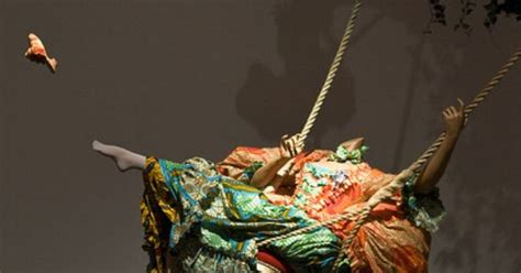 yinka shonibare the swing after fragonard s the swing by yinka shonibare art and