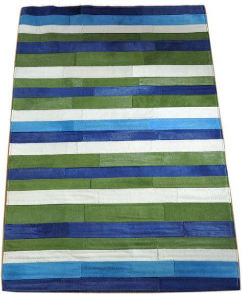 teppich blau gestreift teppich bunt gestreift nzcen