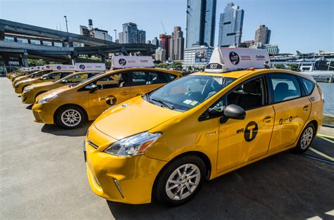 New York City Toyota Toyota Gets Schooled On Design By Nyc Taxi Drivers