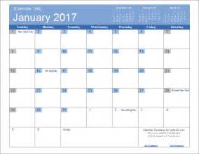 picture calendar template 2017 calendar templates and images