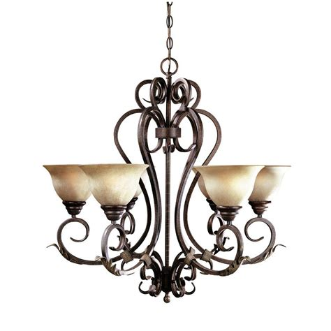 6 light chandelier imports olympus tradition collection 6 light