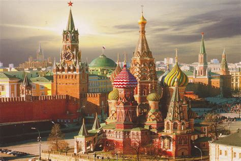 moscow red square red square moscow my collection of postcards from the world
