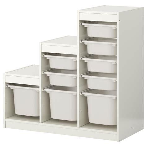 ikea tool storag trofast storage combination with boxes white white