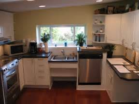 handicap accessible kitchen assisted living senior