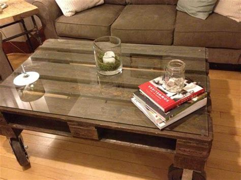 Upcycled Coffee Table Ideas Upcycled Pallet Coffee Table 101 Pallets