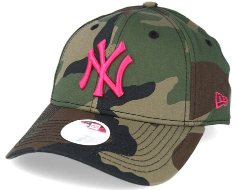 new era mlb new york yankees mlb fashion camo 9forty adjustable new