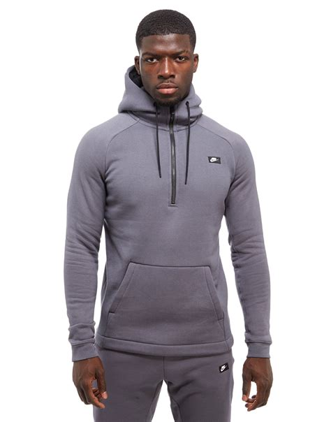 Sweater Hoodie Zipper Vans Nike Unisex nike modern 1 2 zip hoodie jd sports