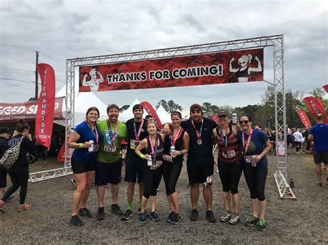 rugged maniac charleston sc rugged maniac 2017 charleston live active fitness