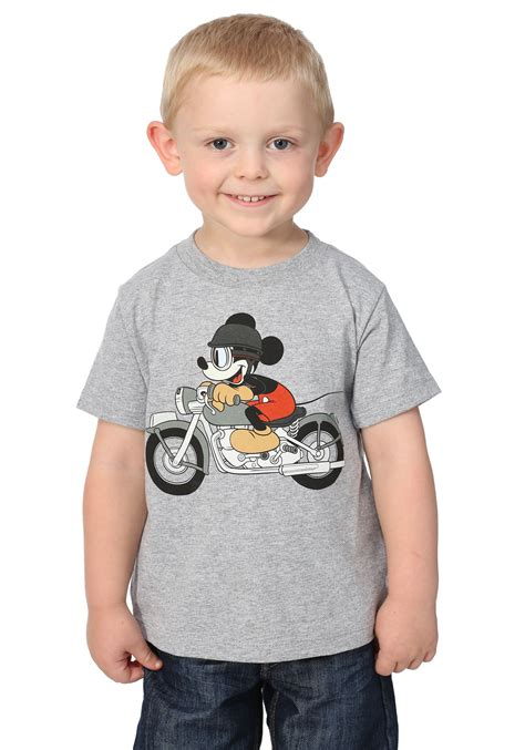 toddler boy shirt boys mickey mouse motorcycle toddler