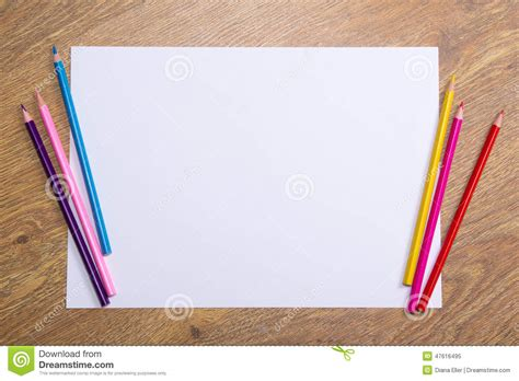sketch book for blank paper for drawing doodling or sketching 100 large blank pages 8 5x11 for sketching books colorful drawing pencils and blank paper on wooden table