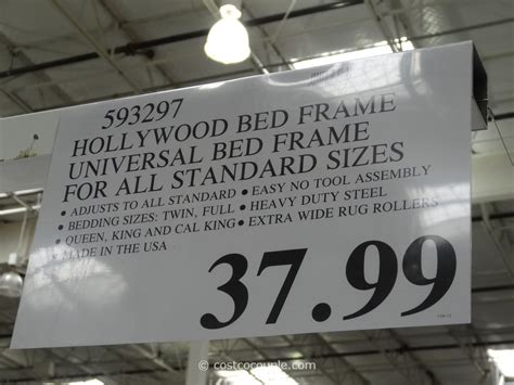 costco bed frames bed frames at costco king cal king metal bed frame