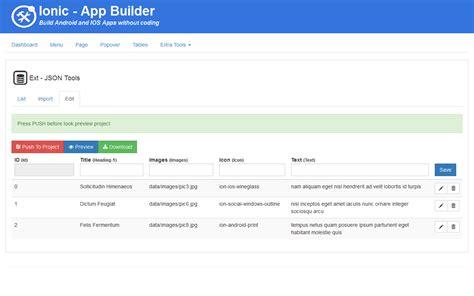 mobile app builder ionic mobile app builder by codegenerator codecanyon