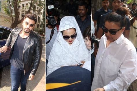 sridevi funeral sridevi funeral gathers lots of fans and superstars