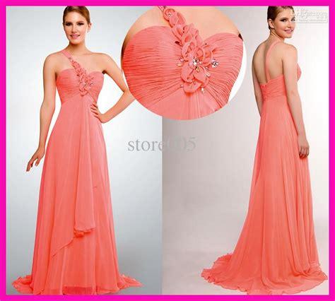 Melon Dress bridesmaid dresses melon water melon one shoulder