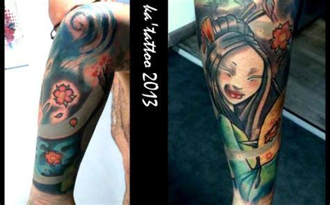 tatouage de ka tattoo dermographia avant bras japonais