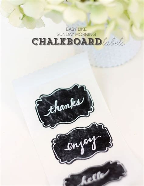 diy chalkboard sticker 24 best images about chalkboard labels and templates diy