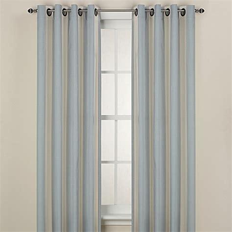 stripe curtain panel lauren stripe window curtain panel bed bath beyond