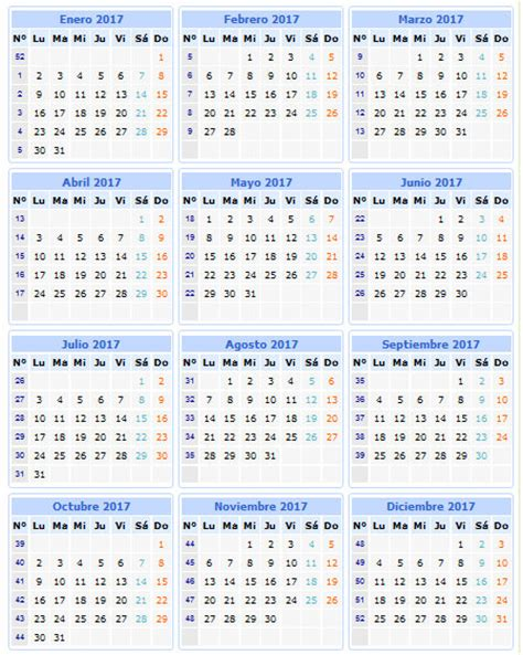 Calendario Gregoriano 2017 Calendario 2017 P 225 3 De 5 Caledarios 2017 Para