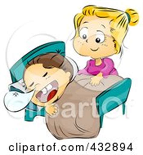 Putting To Bed by Royalty Free Rf Tuck In Clipart Illustrations Vector